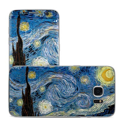 Samsung Galaxy S7 Edge Skin - Starry Night