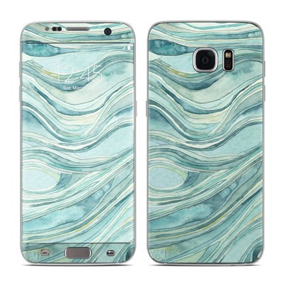 Samsung Galaxy S7 Edge Skin - Waves