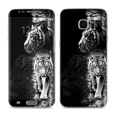 Samsung Galaxy S7 Edge Skin - White Tiger