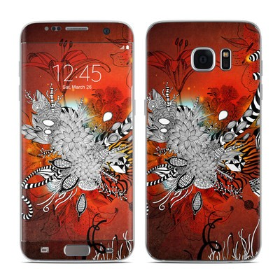 Samsung Galaxy S7 Edge Skin - Wild Lilly