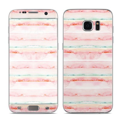 Samsung Galaxy S7 Edge Skin - Watercolor Sunset