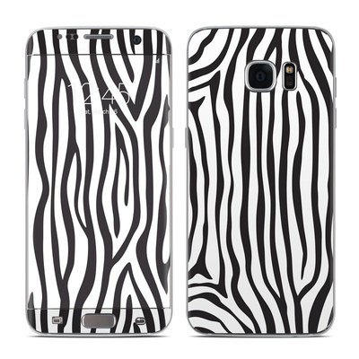 Samsung Galaxy S7 Edge Skin - Zebra Stripes
