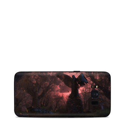 Samsung Galaxy S8 Skin - Black Angel