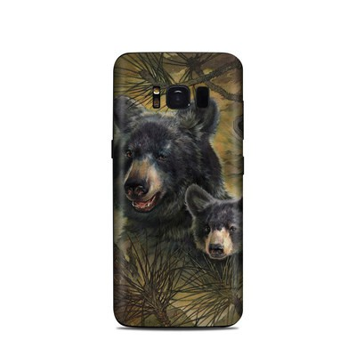 Samsung Galaxy S8 Skin - Black Bears