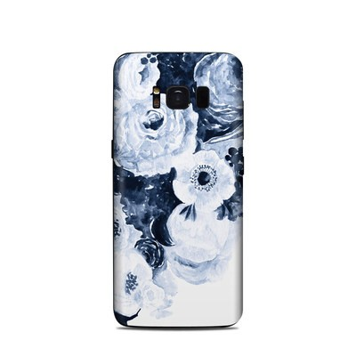 Samsung Galaxy S8 Skin - Blue Blooms