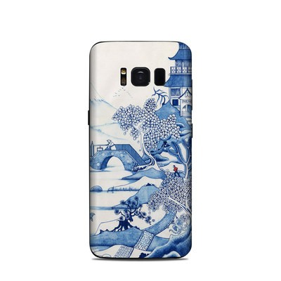 Samsung Galaxy S8 Skin - Blue Willow