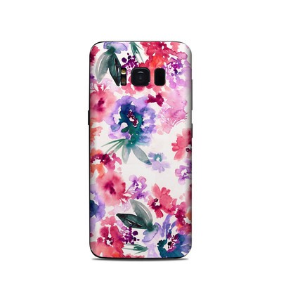 Samsung Galaxy S8 Skin - Blurred Flowers