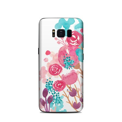 Samsung Galaxy S8 Skin - Blush Blossoms