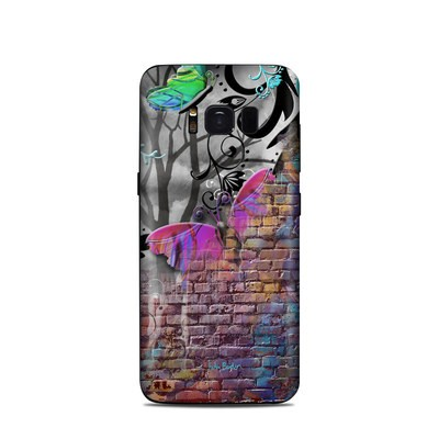 Samsung Galaxy S8 Skin - Butterfly Wall