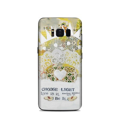 Samsung Galaxy S8 Skin - Choose Light