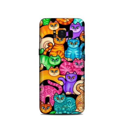 Samsung Galaxy S8 Skin - Colorful Kittens