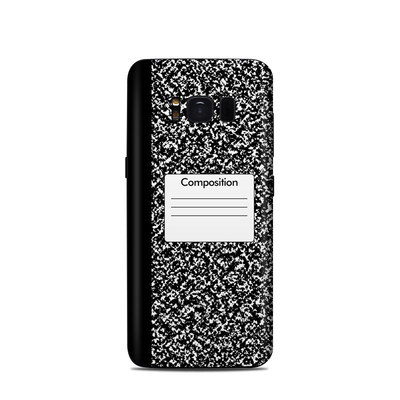 Samsung Galaxy S8 Skin - Composition Notebook