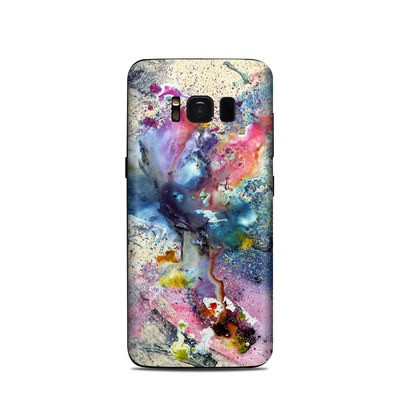 Samsung Galaxy S8 Skin - Cosmic Flower