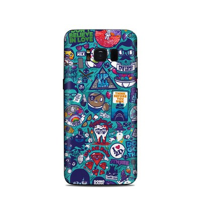 Samsung Galaxy S8 Skin - Cosmic Ray