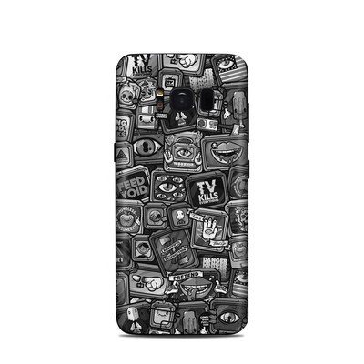 Samsung Galaxy S8 Skin - Distraction Tactic B&W