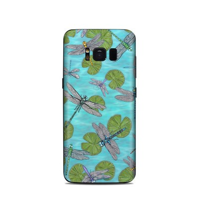 Samsung Galaxy S8 Skin - Dragonflies Over Pond