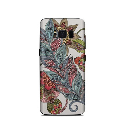 Samsung Galaxy S8 Skin - Feather Flower