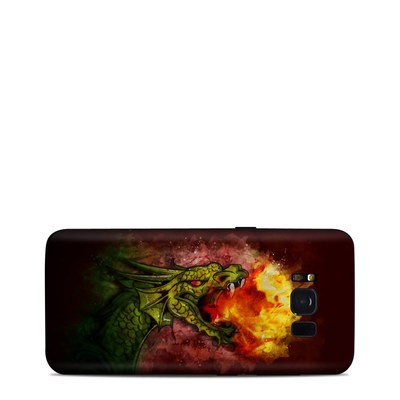 Samsung Galaxy S8 Skin - Fire Breath