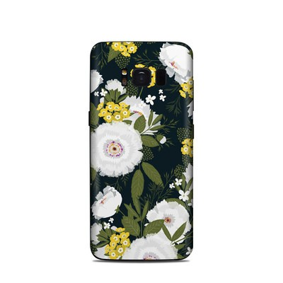 Samsung Galaxy S8 Skin - Fleurette Night