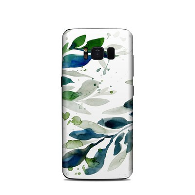 Samsung Galaxy S8 Skin - Floating Leaves