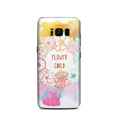 Samsung Galaxy S8 Skin - Flower Child
