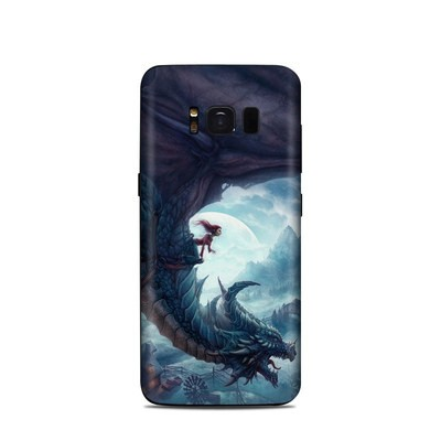 Samsung Galaxy S8 Skin - Flying Dragon