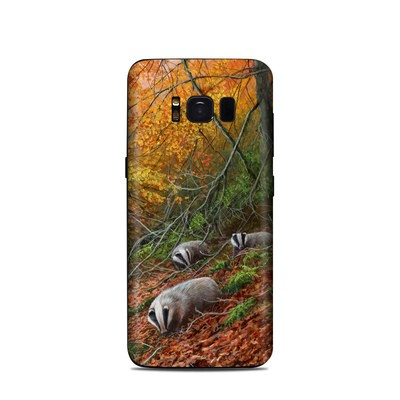 Samsung Galaxy S8 Skin - Forest Gold