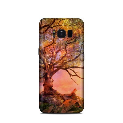 Samsung Galaxy S8 Skin - Fox Sunset