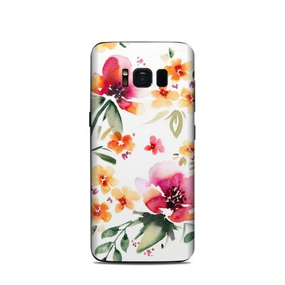 Samsung Galaxy S8 Skin - Fresh Flowers