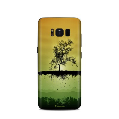 Samsung Galaxy S8 Skin - Flying Tree Amber