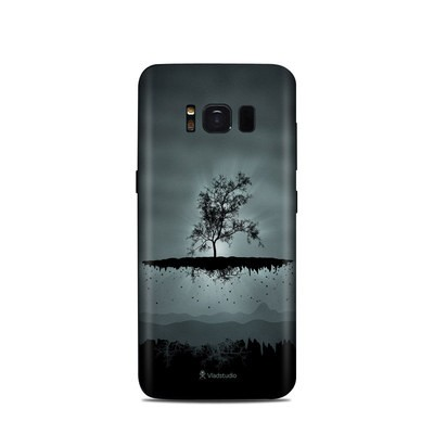 Samsung Galaxy S8 Skin - Flying Tree Black