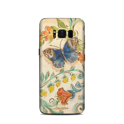 Samsung Galaxy S8 Skin - Garden Scroll