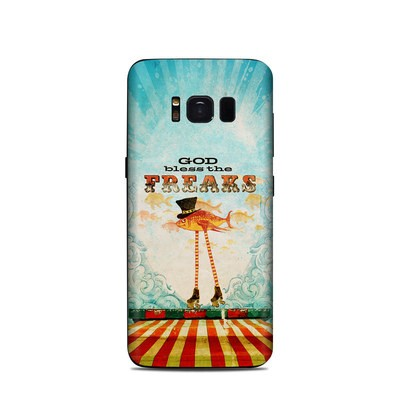 Samsung Galaxy S8 Skin - God Bless The Freaks