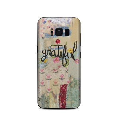 Samsung Galaxy S8 Skin - Grateful