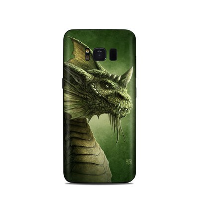 Samsung Galaxy S8 Skin - Green Dragon