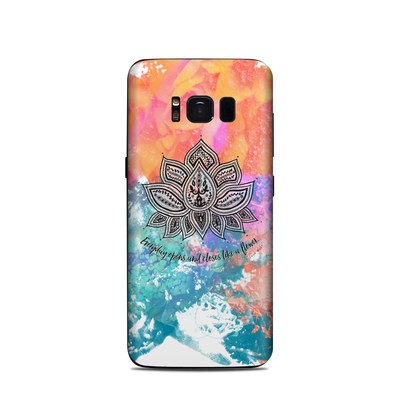 Samsung Galaxy S8 Skin - Happy Lotus