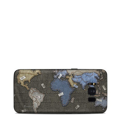 Samsung Galaxy S8 Skin - Jean Map