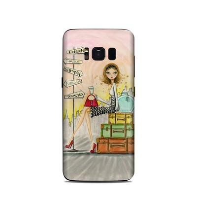 Samsung Galaxy S8 Skin - The Jet Setter
