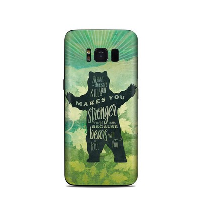 Samsung Galaxy S8 Skin - What Doesnt Kill You