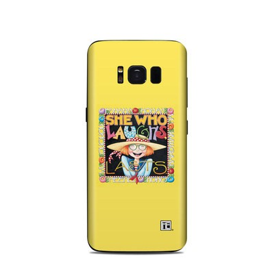 Samsung Galaxy S8 Skin - She Who Laughs