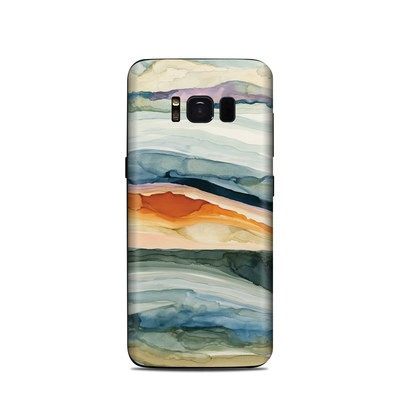 Samsung Galaxy S8 Skin - Layered Earth