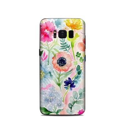 Samsung Galaxy S8 Skin - Loose Flowers