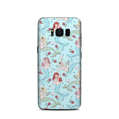 Samsung Galaxy S8 Skin - Mermaids and Roses