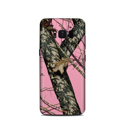 Samsung Galaxy S8 Skin - Break-Up Pink
