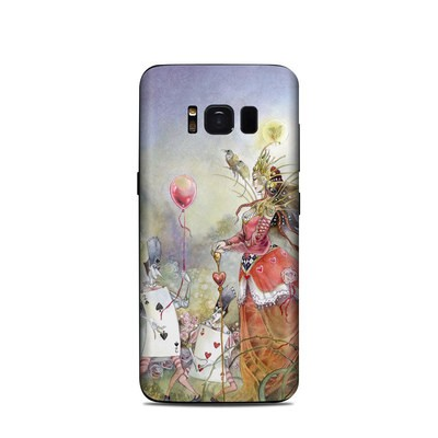 Samsung Galaxy S8 Skin - Queen of Hearts
