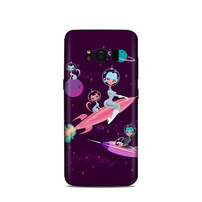 Samsung Galaxy S8 Skin - Rocket Girl
