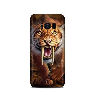 Samsung Galaxy S8 Skin - Sabertooth
