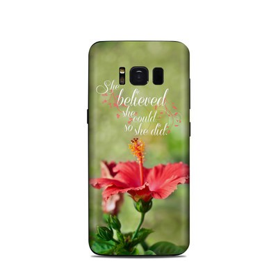 Samsung Galaxy S8 Skin - She Believed