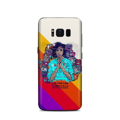 Samsung Galaxy S8 Skin - Singularity Glitch
