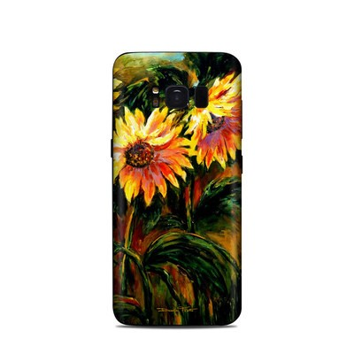 Samsung Galaxy S8 Skin - Sunflower Sunshine